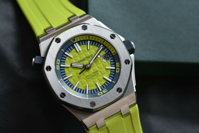 Audemars Piguet Royal Oak Offshore Green Divers